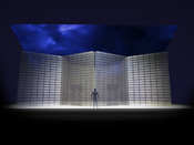 Stage design by Alex McDowell for <EM>Death and the Powers.</EM>